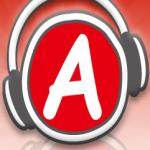 Logo da emissora Apple Line 98.7 FM
