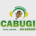 Logo da emissora R�dio Cabugi do Serid� 1150 AM