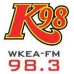 Logo da emissora WKEA 98.3 FM K98
