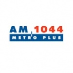 Logo da emissora Metro Plus 1044 AM