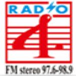 Logo da emissora RTHR-4 98.9 FM