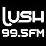 Logo da emissora Lush 99.5 FM