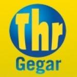 Logo da emissora Gegar FM