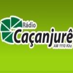 Logo da emissora R�dio Ca�anjur� 1110 AM