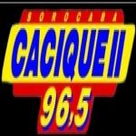 Logo da emissora R�dio Cacique 96.5 FM