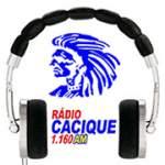 Logo da emissora R�dio Cacique 1160 AM