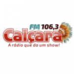 Logo da emissora Rádio Caiçara 106.3 FM