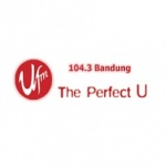 Logo da emissora UFM 104.3 FM