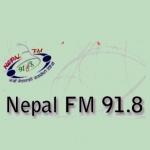 Logo da emissora Radio Nepal FM