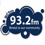 Logo da emissora Radio Bristol Community 93.2 FM