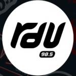 Logo da emissora RDU 98.5 FM