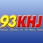 Logo da emissora KKHJ 93 FM