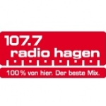 Logo da emissora Hagen 107.7 FM