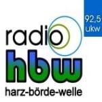 Logo da emissora HBW 92.5 FM
