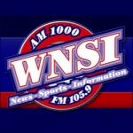 Logo da emissora WNSI 105.9 FM - 1000 AM