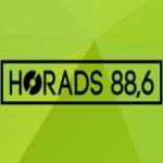 Logo da emissora HoRadS 88.6 FM