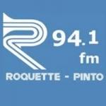 Logo da emissora R�dio Roquette Pinto 94.1 FM