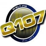 Logo da emissora WQLT 107.3 FM Q107