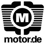 Logo da emissora Radio Motor 104.1 FM