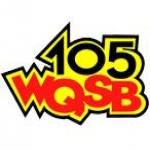 Logo da emissora WQSB 105 FM