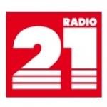 Logo da emissora Radio 21 104.9 FM