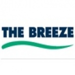 Logo da emissora Radio The Breeze 93.4 FM