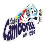 Logo da emissora Rádio Camboriú 1290 AM