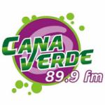 Logo da emissora Rádio Cana Verde 89.9 FM