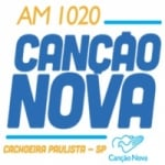 Logo da emissora Rádio Canção Nova 1020 AM