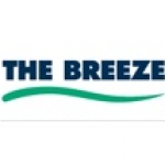 Logo da emissora Radio The Breeze 98.5 FM