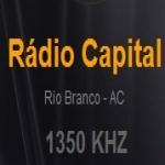 Logo da emissora Rádio Capital 1350 AM