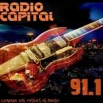 Logo da emissora Rádio Capital 91.1 FM