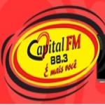 Logo da emissora Rádio Capital 88.3 FM