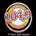 Logo da emissora R�dio Capivara 104.9 FM