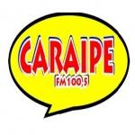 Logo da emissora R�dio Cara�pe 100.5 FM
