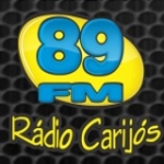 Logo da emissora Rádio Carijós 89.9 FM