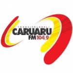 Logo da emissora Rádio Caruaru 104.9 FM
