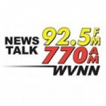Logo da emissora WVNN 92.5 FM 770 AM News Talk