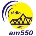 Logo da emissora Rádio Cataguases 550 AM