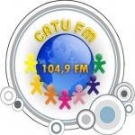 Logo da emissora R�dio Catu 104.9 FM