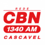 Logo da emissora Rádio CBN Cascavel 1340 AM