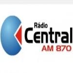 Logo da emissora Rádio Central 870 AM