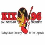 Logo da emissora WXFL 96.1 FM