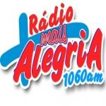 Logo da emissora R�dio Mais Alegria 1060 AM