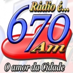 Logo da emissora R�dio Centro Oeste 670 AM