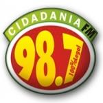 Logo da emissora R�dio Cidadania 98.7 FM