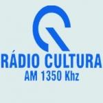 Logo da emissora Rádio Cultura 1350 AM