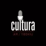 Logo da emissora Rádio Cultura 1180 AM