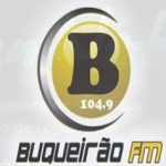 Logo da emissora R�dio Buqueir�o 104.9 FM