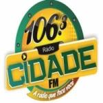 Logo da emissora Rádio Cidade 106.3 FM